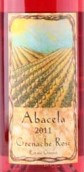 阿坝塞拉歌海娜桃红葡萄酒(Abacela Grenache Rose, Umpqua Valley, USA)