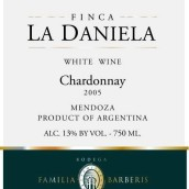 Bodega Barberis Finca La Daniela Chardonnay,Mendoza,...