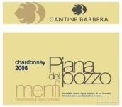 芭芭拉皮亚纳波佐霞多丽干白葡萄酒(Cantine Barbera Piana del Pozzo Chardonnay Menfi,Sicily,...)