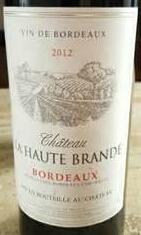 欧柏龙酒庄干红葡萄酒(Chateau Haute Brande,Bordeaux,France)