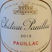 波雅克酒庄红葡萄酒(Chateau Pauillac,Pauillac,France)