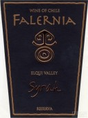 翡冷翠珍藏西拉干红葡萄酒(Vina Falernia Reserva Syrah,Elqui Valley,Chile)