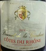 加迪内罗纳河谷红葡萄酒(Brunel de la Gardine Cotes du Rhone,Rhone Valley,France)