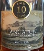 兰佳顿10年瑞士单一麦芽威士忌(Langatun Aged 10 Years Swiss Single Malt Whisky,Switzerland)