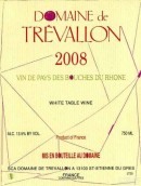 铁瓦龙酒庄干白葡萄酒(Domaine de Trevallon White,Vin de Pays des Bouches-du-Rhone,...)