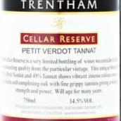 特伦庄园酒窖珍藏味而多丹娜混酿干红葡萄酒(Trentham Estate Cellar Reserve Petit Verdot Tannat,Australia)