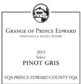 爱德华王子精选灰皮诺干白葡萄酒(Grange of Prince Edward Vineyards&Estate Winery Select Pinot...)