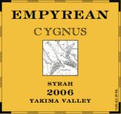 苍穹天鹅座西拉干红葡萄酒(Empyrean Wines Cygnus Syrah, Yakima Valley, USA)