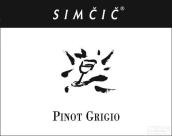 斯姆奇灰皮诺干白葡萄酒(Simcic Pinot Grigio,Goriska Brda,Slovenia)