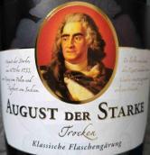 瓦克巴尔特酒庄奥古斯特干型起泡酒(Schloss Wackerbarth August der Starke Sekt Trocken, Sachsen, Germany)