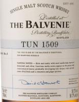 百富1509号桶第4批次苏格兰单一麦芽威士忌(The Balvenie Tun 1509 Batch No.4 Single Malt Scotch Whisky,...)