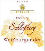 施蒂格勒城堡山白皮诺干型小房酒(Weingut Stigler Freiburg Schlossberg Weißburgunder Kabinett trocken, Baden, Germany)