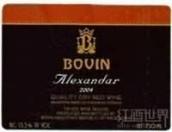 博万酒庄亚历山大干红葡萄酒(Bovin Alexandar,Tivkes,Macedonia)