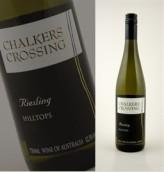 卓克劳斯山顶雷司令干白葡萄酒(Chalkers Crossing Hilltops Riesling,New South Wales,...)