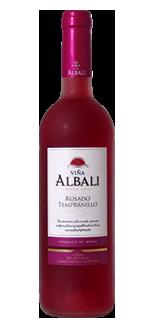 索莱斯阿百丽园桃红葡萄酒(Felix Solis Vina Albali Rosado,Valdepenas,Spain)
