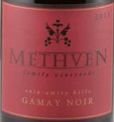 梅斯文家族佳美干红葡萄酒(Methven Family Vineyards Gamay Noir,Eola-Amity Hills,USA)
