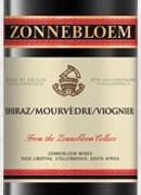 诺堡西拉慕合怀特维欧尼干红葡萄酒(Zonnebloem Shiraz Mourvedre Viognier,Stellenbosch,South ...)