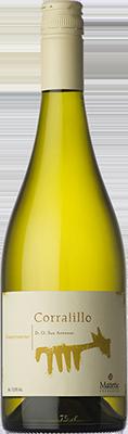 玛德帝克科拉利约琼瑶浆干白葡萄酒(Matetic Corralillo Gewurztraminer,San Antonio Valley,Chile)