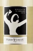 佩里河莫斯卡托甜白葡萄酒(Perry Creek Winery Moscato,El Dorado,USA)