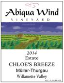艾比卡风酒庄克洛伊微风米勒-图高干白葡萄酒(Abiqua Wind Vineyard Chloe's Breeze Muller-Thurgau,...)