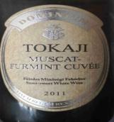 潘诺酒庄多米尼奥麝香-富尔民特混酿甜白葡萄酒(Pannon Dominium Muscat-Furmint,Tokaji,Hungary)