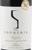 索菲亚珍藏赤霞珠红葡萄酒(Finca Sophenia Reserve Cabernet Sauvignon, Tupungato, Argentina)