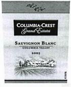 哥伦比亚山峰大园精选长相思干白葡萄酒(Columbia Crest Grand Estates Sauvignon Blanc,Columbia Valley...)