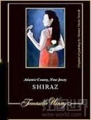托马塞罗西拉干红葡萄酒(大西洋县)(Tomasello Winery Shiraz,New Jersey,USA)