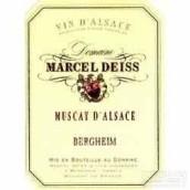 Domaine Marcel Deiss Muscat Bergheim,Alsace,France