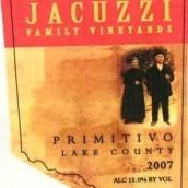 佳卡兹酒庄普里米蒂沃红葡萄酒(Jacuzzi Family Primitivo,Lake County,USA)