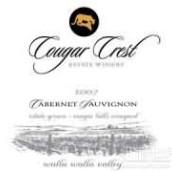 美洲狮酒庄赤霞珠干红葡萄酒(Cougar Crest Winery Cabernet Sauvignon,Walla Walla Valley,...)