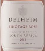 徳翰姆皮诺塔吉桃红葡萄酒(Delheim Pinotage Rose,Stellenbosch,South Africa)