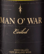 门欧沃酒庄放逐灰皮诺白葡萄酒(Man O' War Exiled Pinot Gris, Ponui Island, New Zealand)