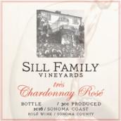 希尔家族佳酿霞多丽桃红葡萄酒(Sill Family Vineyards Tres Chardonnay Rose,Sonoma County,USA)