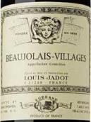 路易亚都酒庄(博若莱村)红葡萄酒(Louis Jadot, Beaujolais Villages, France)