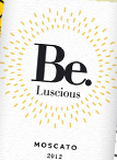 Be.浪漫麝香甜白葡萄酒(Be.Luscious Moscato,USA)
