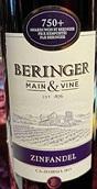 贝灵哲主干仙粉黛干红葡萄酒(Beringer Main&Vine Zinfandel,California,USA)