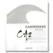泰瑞贵族CA2佳美娜干红葡萄酒(Terra Noble CA2 Coasta Carmenere,Colchagua Valley,Chile)