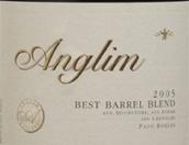 安格尼姆最佳橡木桶混酿红葡萄酒(Anglim Best Barrel Blend,Paso Robles,USA)