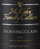麦克卡恩晨杯干红葡萄酒(McKahn Family Cellars Morning Glass,Amador County,USA)