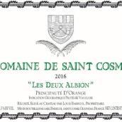 圣戈斯酒庄阿尔比恩干白葡萄酒(Domain de Saint Cosme Les Deux Albion White,Principaute d' ...)