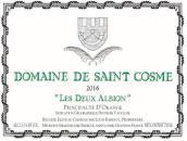 圣戈斯酒庄阿尔比恩干白葡萄酒(Domain de Saint Cosme Les Deux Albion White, Principaute d' Orange, France)