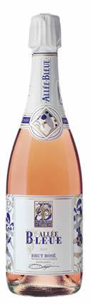 蓝光之路干型桃红起泡酒(Allee Bleue Brut Rose,Stellenbosch,South Africa)