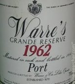 辛明顿家族华莱仕特级珍藏波特酒(Symington Family Warre's Grand Reserve Port, Douro, Portugal)