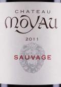 穆悠酒庄索瓦热干红葡萄酒(Chateau Moyau Sauvage, La Clape, France)