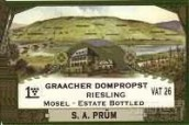 Weingut S A Prum Graacher Domprobst Riesling,Mosel,Germany