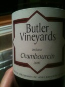 巴特勒香宝馨半干桃红葡萄酒(Butler Chambourcin Rose,Indiana,USA)