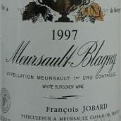悦宝布拉格尼(默尔索一级园)干白葡萄酒(Antoine Jobard Meursault Blagny, Meursault Premier Cru, France)