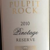 布道石酒庄珍藏皮诺塔吉红葡萄酒(Pulpit Rock Reserve Pinotage,Swartland,South Africa)