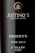 贾斯汀诺5年珍藏马德拉葡萄酒(Justino's 5 Years Old Fine Rich Reserve,Madeira,Portugal)